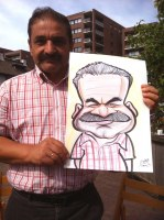A Crewe Stoke Caricature Artist For Hire
